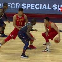 USA vs China Exhibition Game Full Highlights NBA