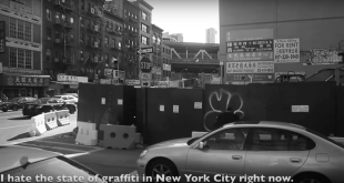 Graffiti Bombing with Zexor - Summer in New York Pt. 5 (Video)