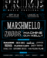 Marshmello, Migos, and Machine Gun Kelly headline the inaugural PRIME…
