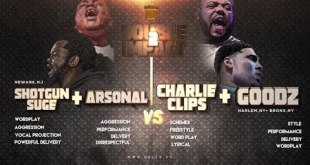 Charlie Clips + Goodz vs Arsonal + Shotgun Smack/URL (Rap Battle)