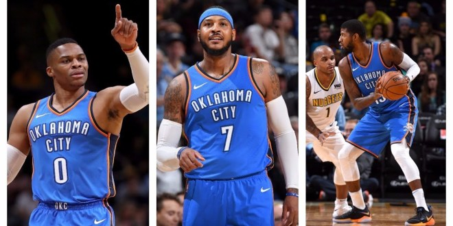 Who looks better: Lebron James & the Cavs or Carmelo & OKC?