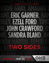 """TV One Premieres Highly-Anticipated Social Justice Limited Series """"Two Sides"""" on Monday, January 22 at 10 p.m. ET"""