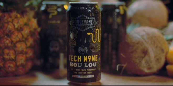 See what it takes to make Tech N9ne's new beer 'Bou Lou'