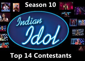 Indian Idol 2018 Contestants