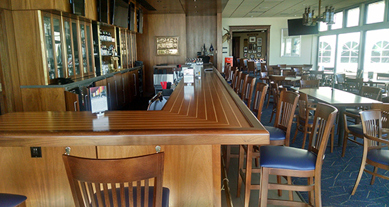 Chicago Yacht Club Bar Renovation  TriMark Marlinn