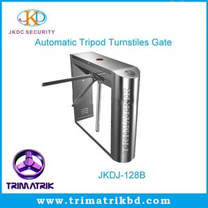 JKDJ-128B-Pedestrian-Access-Control-Entrance-Tripod-Turnstile-Bangladesh-Trimatrik