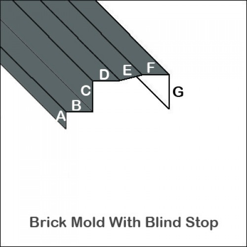 How To Bend Brick Mold Trim