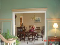 Dining Rooms With Chair Rails | Simple Home Decoration