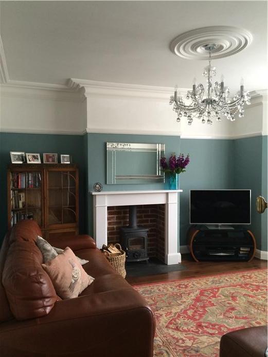 Trim Colour Series No1 Oval Room Blue London Painters