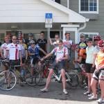 Membres de l'équipe junior canadienne à Clermont, Fl.