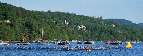 Mont-Tremblant 70.3 swim