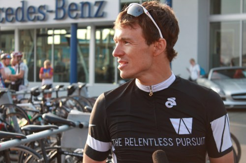 Simon Whitfield: the relentless pursuit of excellence.