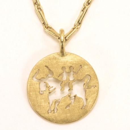 Exclusive Sternzeichen Anhnger aus Gold Platin oder