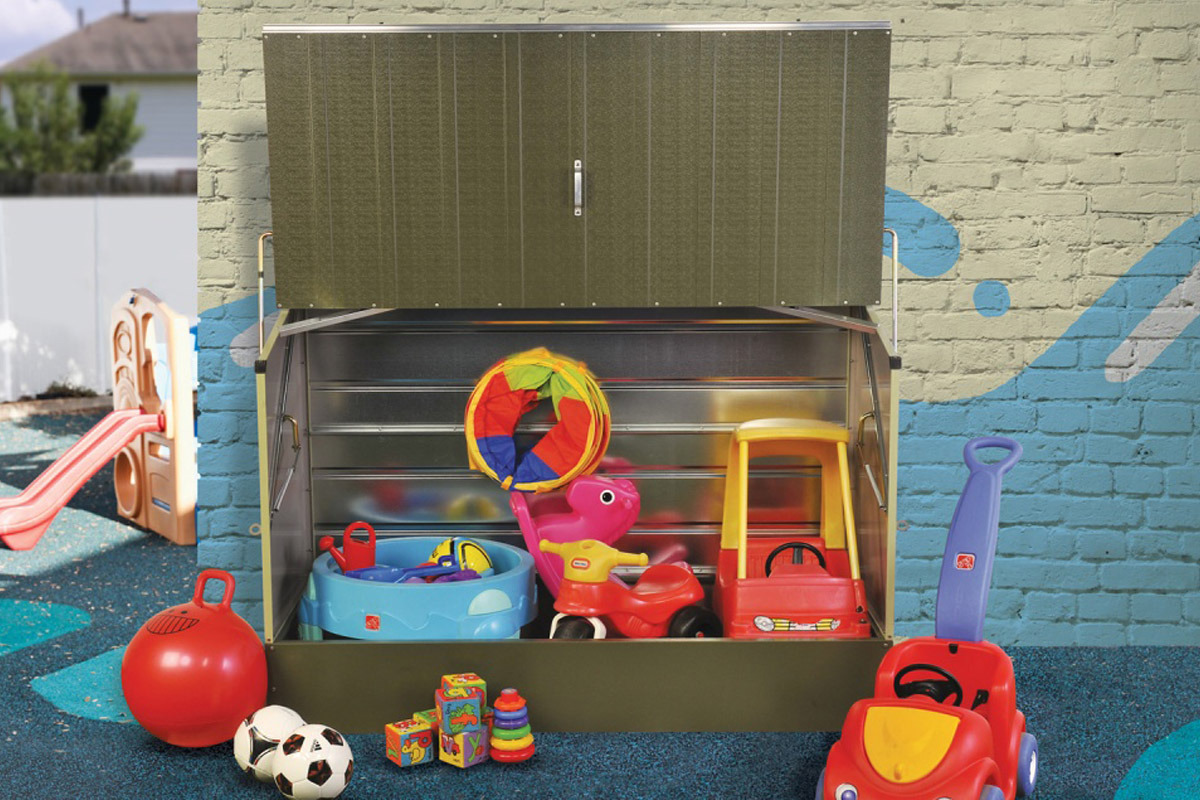 Outdoor Toy Storage Solutions for Gardens  Free Delivery