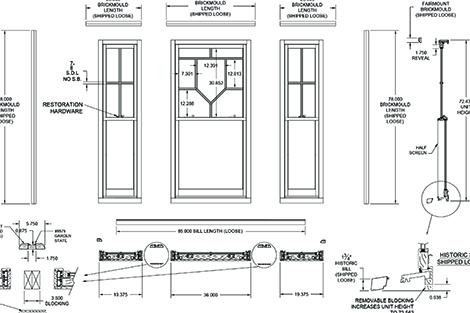 Trimline Custom Wood Windows