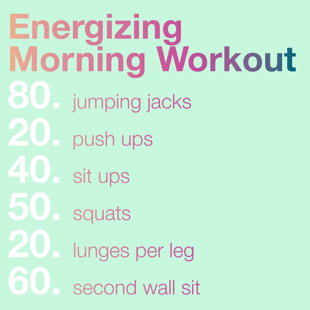 12 weight loss morning workouts to burn maximum calories