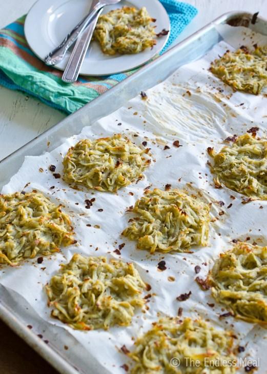 6. Baked Sweet Potato Latkes
