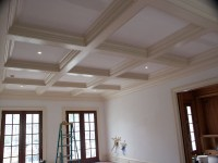 Custom Cauffered Coffered Ceilings Box Beams Crown ...