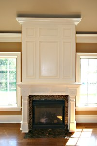 Crown Molding Fireplace Mantel. How To Build FIREPLACE ...
