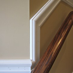 Oak Chair Rail Office Replacement Arms Toronto Mdf Wood Poplar Installations Wall Trim Ceiling Medallions Installation