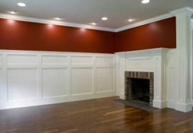 Wainscoting Modern Dining Room