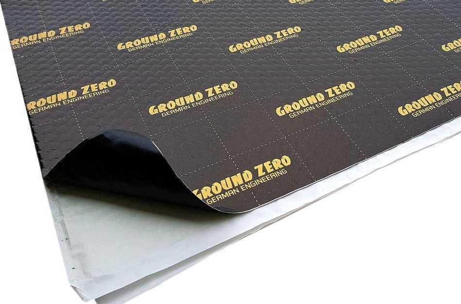 Ground Zero GZDM 3750AB Gold - samolepiaci butylkaučukový tlmiaci materiál