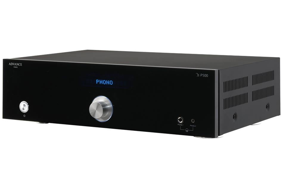 Advance Acoustic XP-500 - Dual-Mono predzosilňovač luxusnej série Advance Paris
