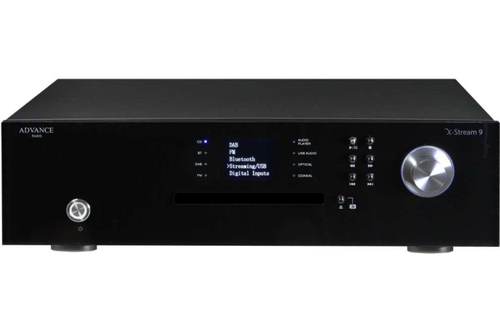 Advance Acoustic X-Stream 9 - audiofiský CD prehrávač + multimediálny sieťový prehrávač + DAC prevodník + DAB+ /FM tune