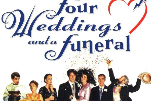 Chilterns MS Centre fundraising screening – Four Weddings and a Funeral – Saturday 16th September