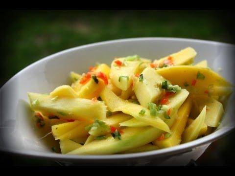 Trinidad Mango Chow Recipe