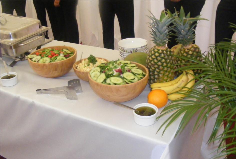 Salads for a Wedding