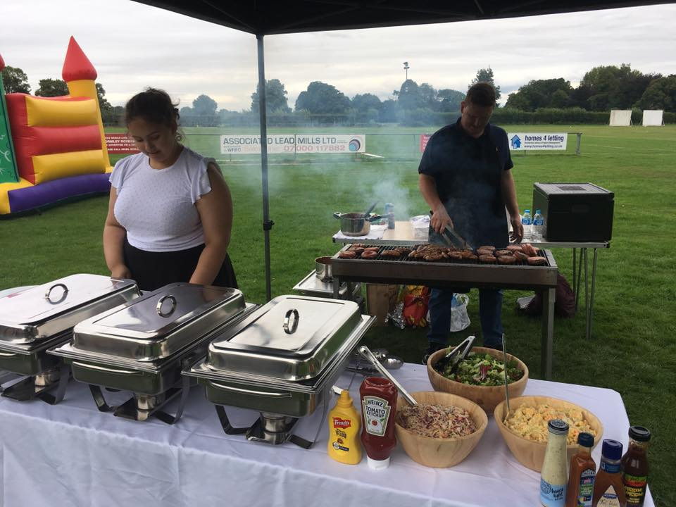 Summer BBQ for a Christening in Hertfordshire