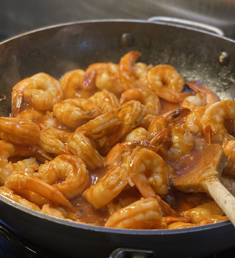 Trinidad Pepper Shrimp