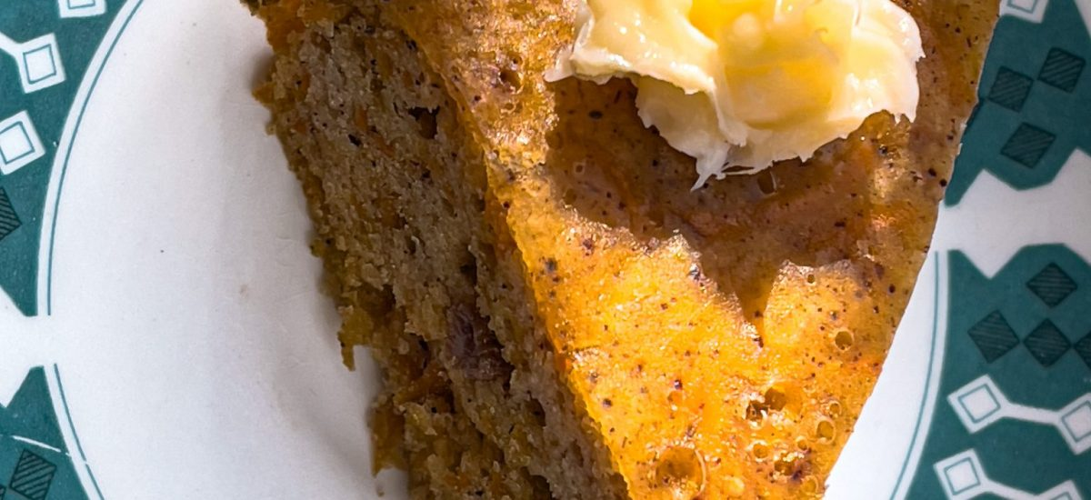 Slow Cook Spiced Carrot Cake [RECIPE]
