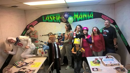 Our annual Costume Ceilidh at Laser Mania!