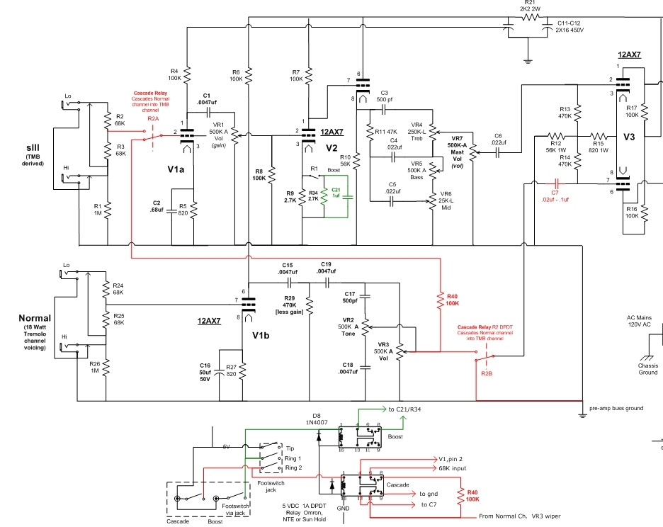 Vox Ac15 Schematic, Vox, Free Engine Image For User Manual