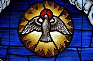 Holy Spirit, heavenly dove ...