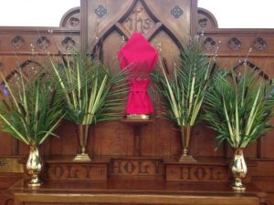 Palm Sunday ...
