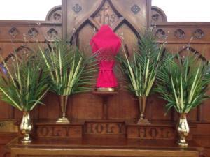 Palm Sunday ...