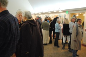 art show opening reception