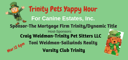 Trinity Pets Yappy Hour March 19