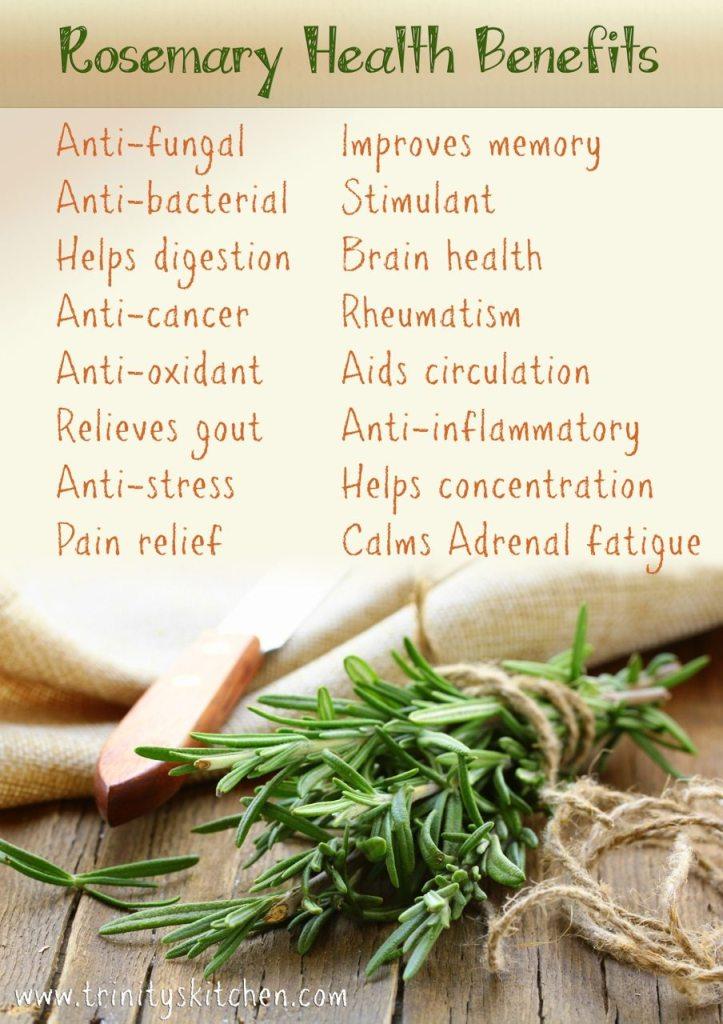 Health benefits of rosemary