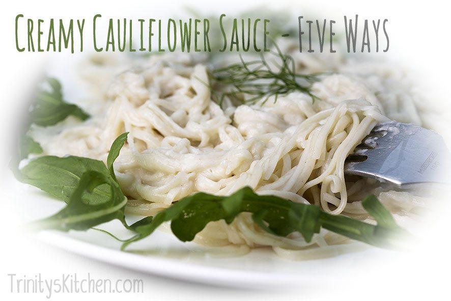 Cauliflower sauce by Trinity