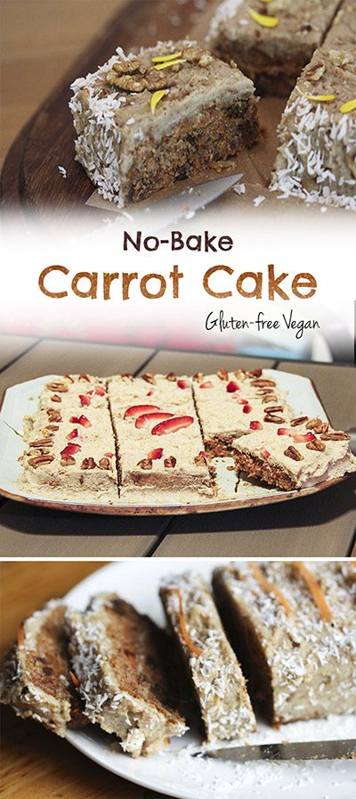 No bake carrot cake PIN