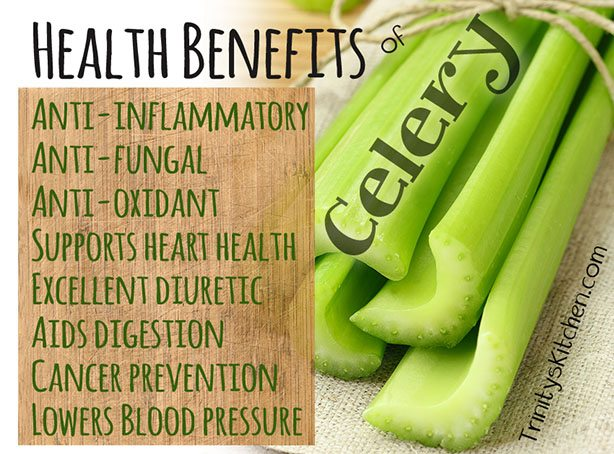 Celery benefits by Trinity
