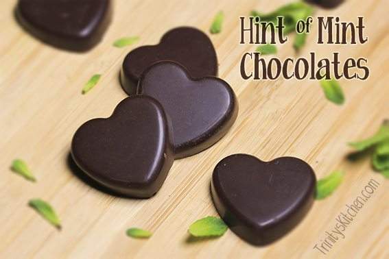 Hint of Mint Chocolates by Trinity Bourne