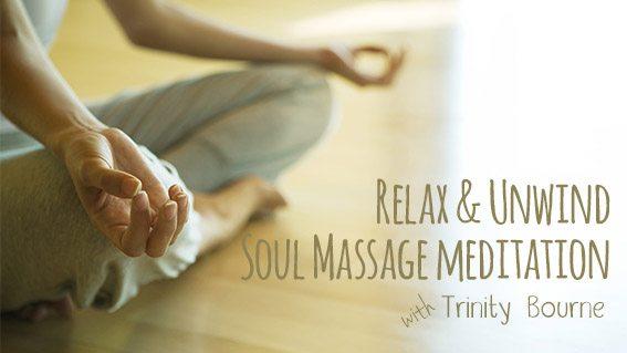 Soul massage meditation image