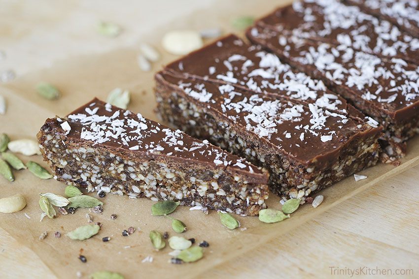 Cardamom Raw Slice by Trinity