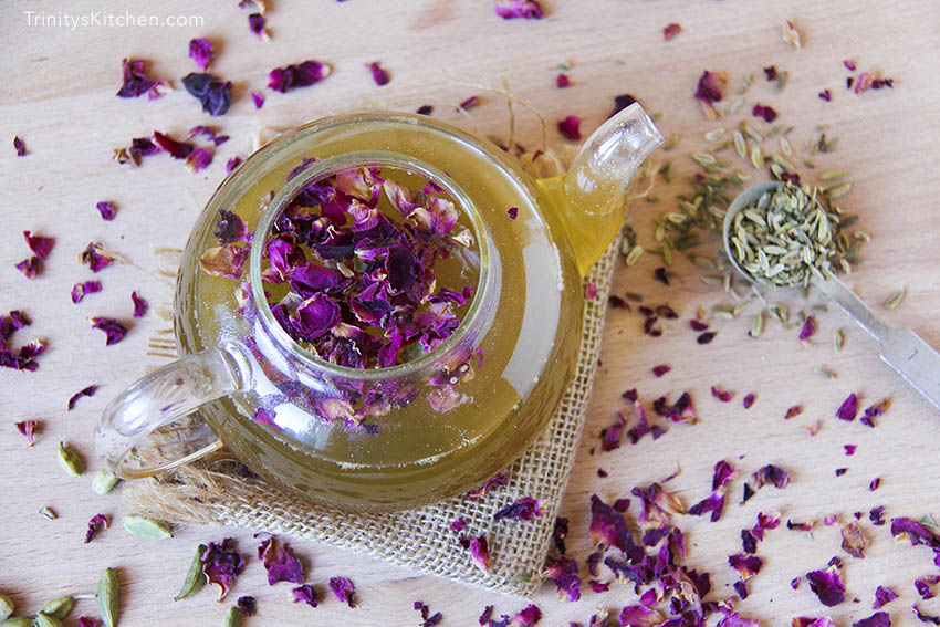 """Love Yourself Beautiful"" Homemade Herbal Tea"