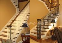 Stair Remodel Before/After #11 - Trinity Stairs